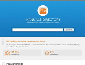 manualsdir.com screenshot
