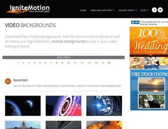 ignitemotion.com screenshot