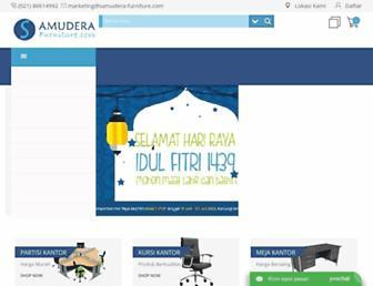 samudera-furniture.com screenshot