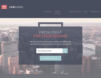 jobhero.com screenshot