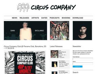 circuscompany.fr screenshot