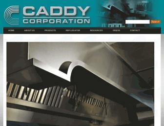 caddycorp.com screenshot