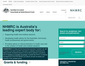 Thumbshot of Nhmrc.gov.au