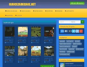 igricezadecake.net screenshot