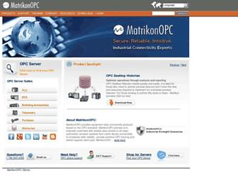 matrikonopc.com screenshot