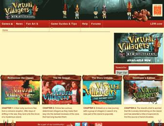 virtualvillagers.com screenshot