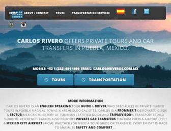 riveros.com.mx screenshot