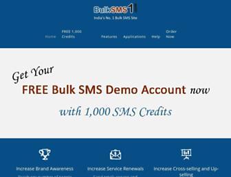 bulksms1.com screenshot