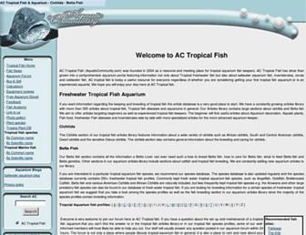 aquaticcommunity.com screenshot