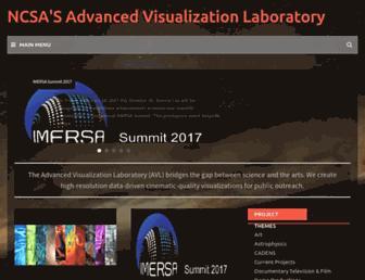 Main page screenshot of avl.ncsa.illinois.edu