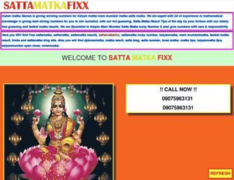 sattamatkafixx.com screenshot