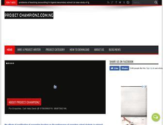 projectchampionz.com.ng screenshot
