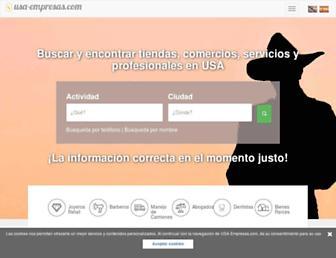 usa-empresas.com screenshot