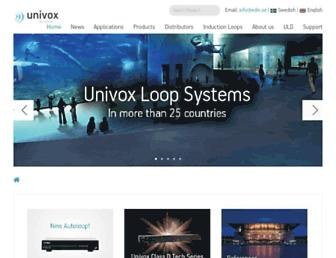 univox.eu screenshot
