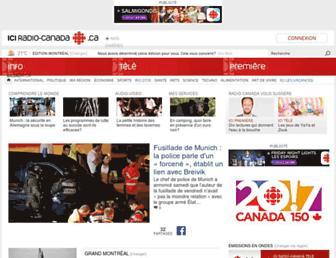 ici.radio-canada.ca screenshot