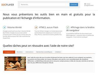 docplayer.fr screenshot