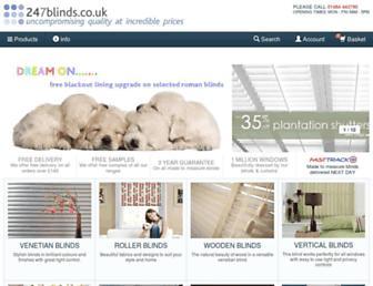 247blinds.co.uk screenshot