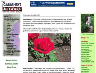 Thumbshot of Gardenersnet.com