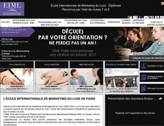 eiml-paris.fr screenshot