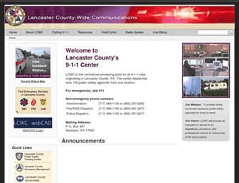 lcwc911.us screenshot