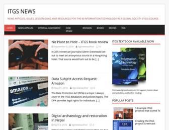 itgsnews.com screenshot