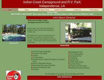 indiancreek55.com screenshot