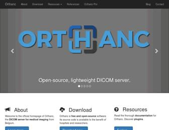orthanc-server.com screenshot