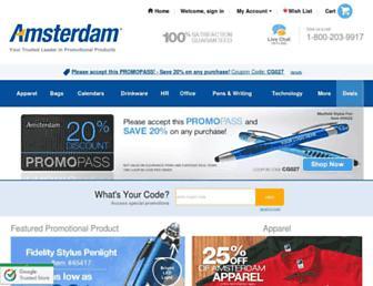 amsterdamprinting.com screenshot