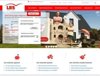 Main page screenshot of lbsi.de