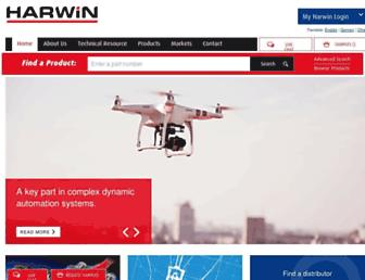 harwin.com screenshot