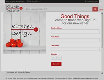 Thumbshot of Kitchenbydesign.co.za