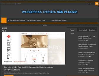 dlwpthemes.com screenshot