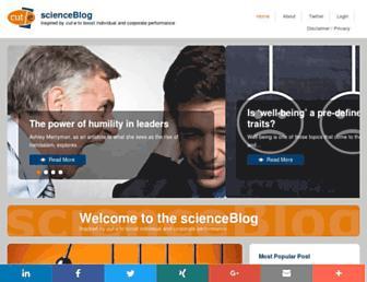 scienceblog.cut-e.com screenshot