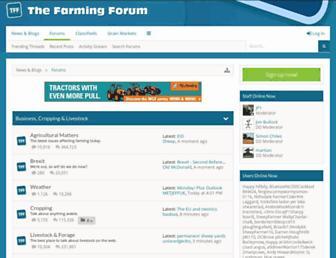 thefarmingforum.co.uk screenshot