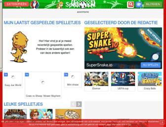 spelletjes.nl screenshot