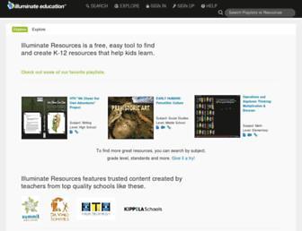 resources.illuminateed.com screenshot