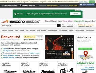 Thumbshot of Mercatinomusicale.com