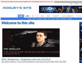 roguey.co.uk screenshot