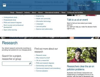 qut.edu.au screenshot