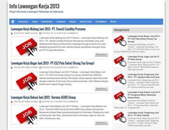 kilowongan.blogspot.com screenshot