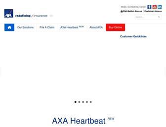 axa.com.sg screenshot