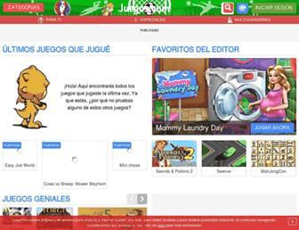 juegos.com screenshot