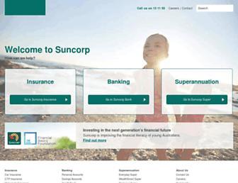 suncorp.com.au screenshot