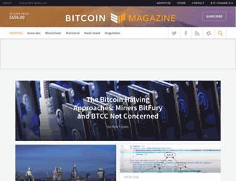 bitcoinmagazine.com screenshot