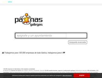 paxinasgalegas.es screenshot