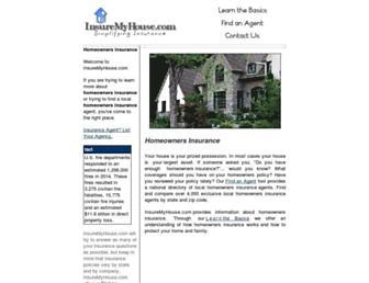 insuremyhouse.com screenshot