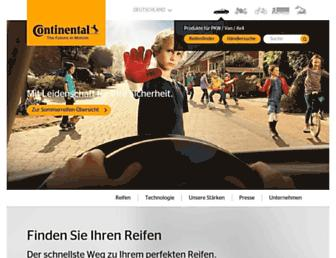 Thumbshot of Continental-reifen.de