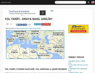 Thumbshot of Yoltarifi.com