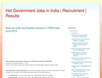recruitment2result.blogspot.com screenshot