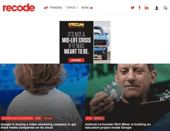 Thumbshot of Recode.net